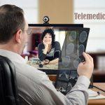 Telemedicina Sobre Leitos hospitalares e a necessidade ambientes de isolamento